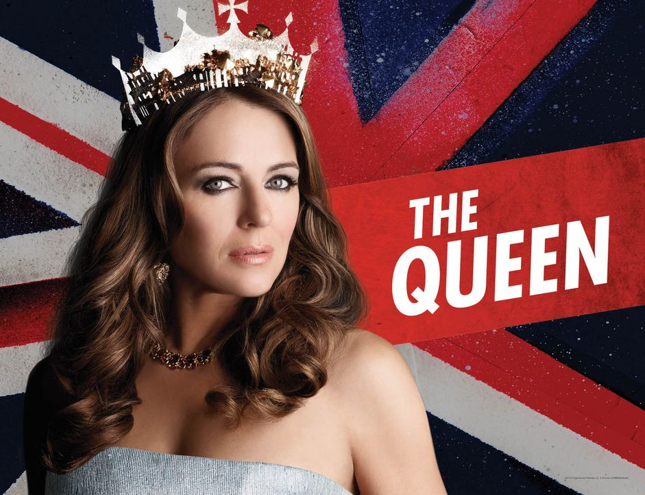 (1. Staffel) - The Royals: Königin Helena (Elizabeth Hurley) ... - Bildquelle: 2014 E! Entertainment Media LLC/Lions Gate Television Inc.