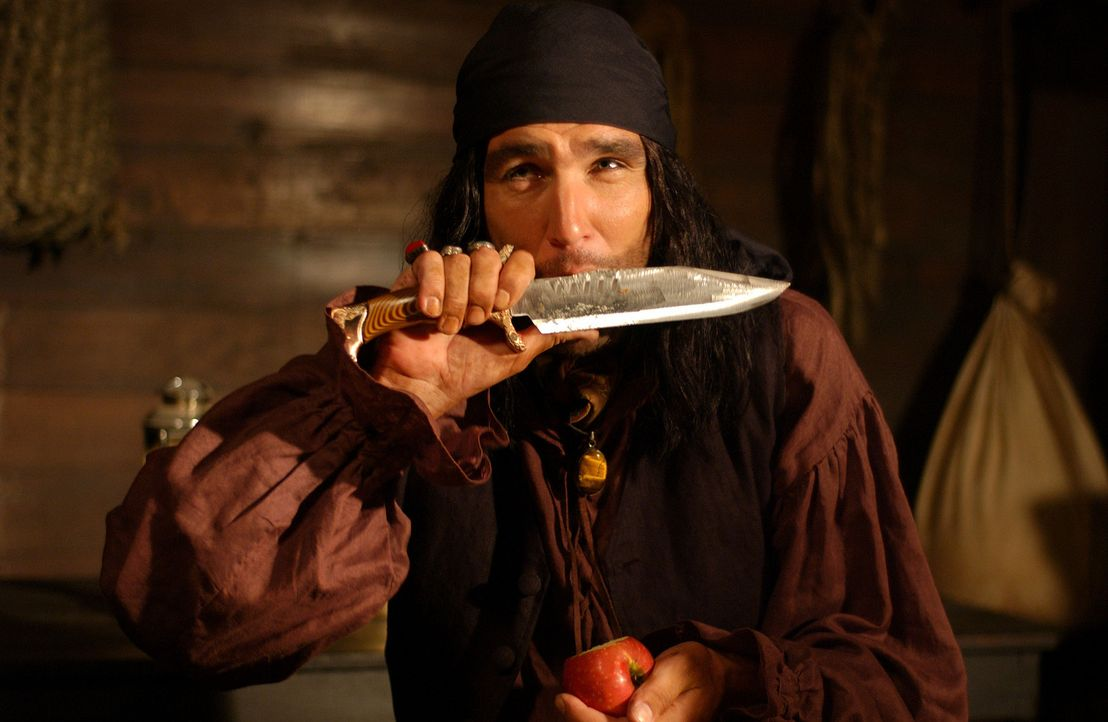 Wild entschlossen, einen Schatz zu bergen: der hemmungslose Piratenkapitän Bob Harvey (Vinnie Jones) ... - Bildquelle: 2006 RHI Entertainment Distribution, LLC