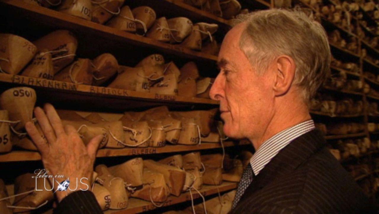 Um seine Kunden kümmert sich John Lobb höchstpersönlich ... - Bildquelle: Sat.1 Gold