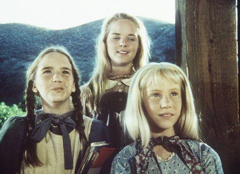 Unsere kleine Farm - Laura (Melissa Gilbert, l.), Mary (Melissa Sue Anderson,...