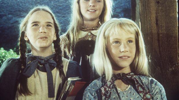 Laura (Melissa Gilbert, l.), Mary (Melissa Sue Anderson, M.) und Ginny (Rache...