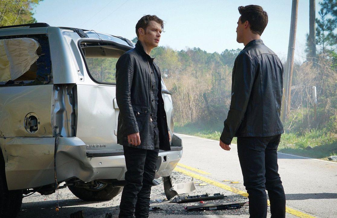 Als ein Kampf zwischen Klaus (Joseph Morgan, l.) und Lucien (Andrew Lees, r.) eskaliert, trifft Freya eine Entscheidung, die das Leben aller für imm... - Bildquelle: Warner Bros. Entertainment, Inc.