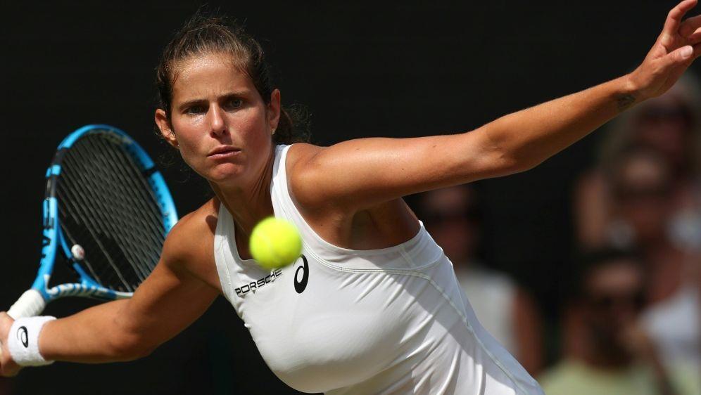 US Open: Görges kämpft sich in Runde zwei