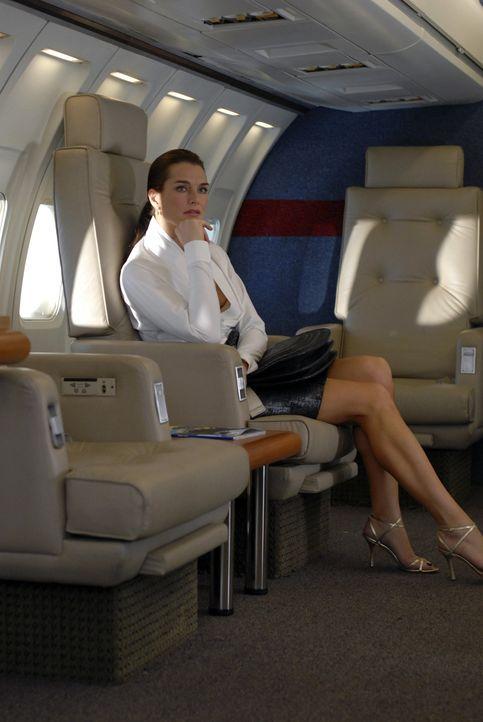 Wendy (Brooke Shields) wollte die Geschäftsreise nach Schottland eigentlich absagen, doch der Auftrag ist zu wichtig ... - Bildquelle: 2004 NBC, Inc.