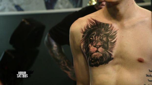 Horror Tattoos Video Vorher Nachher Wenn Ein Andenken Zum