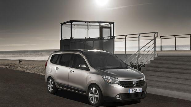 Raumwunder zum Preis eines Gebrauchtwagens: Mit dem Dacia Lodgy haben die Rum...