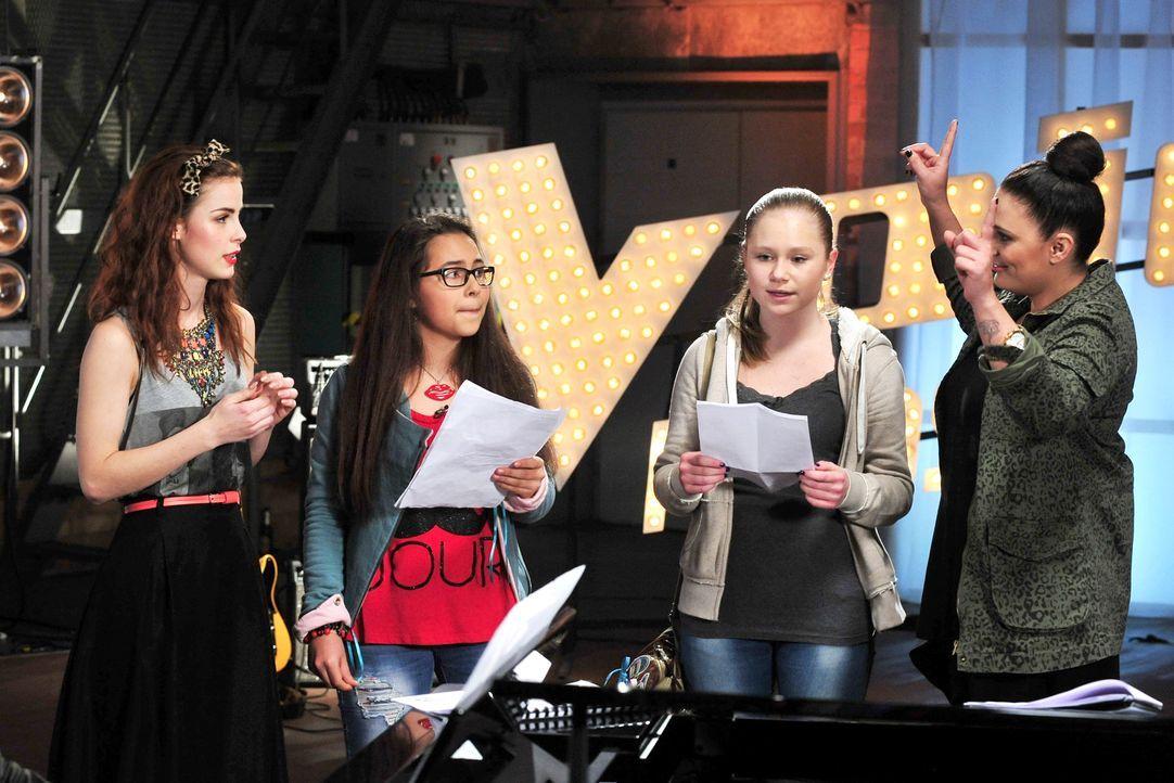 The-Voice-Kids-Stf02-Epi06-Lara-Lene-56-SAT1-Andre-Kowalski - Bildquelle: SAT.1/Andre Kowalski