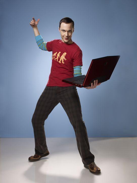 (5. Staffel) - Ein Intellektueller, der allerdings keine Ahnung von einem Leben neben der Physik und Videogames hat: Dr. Sheldon Cooper (Jim Parsons... - Bildquelle: Warner Bros. Television