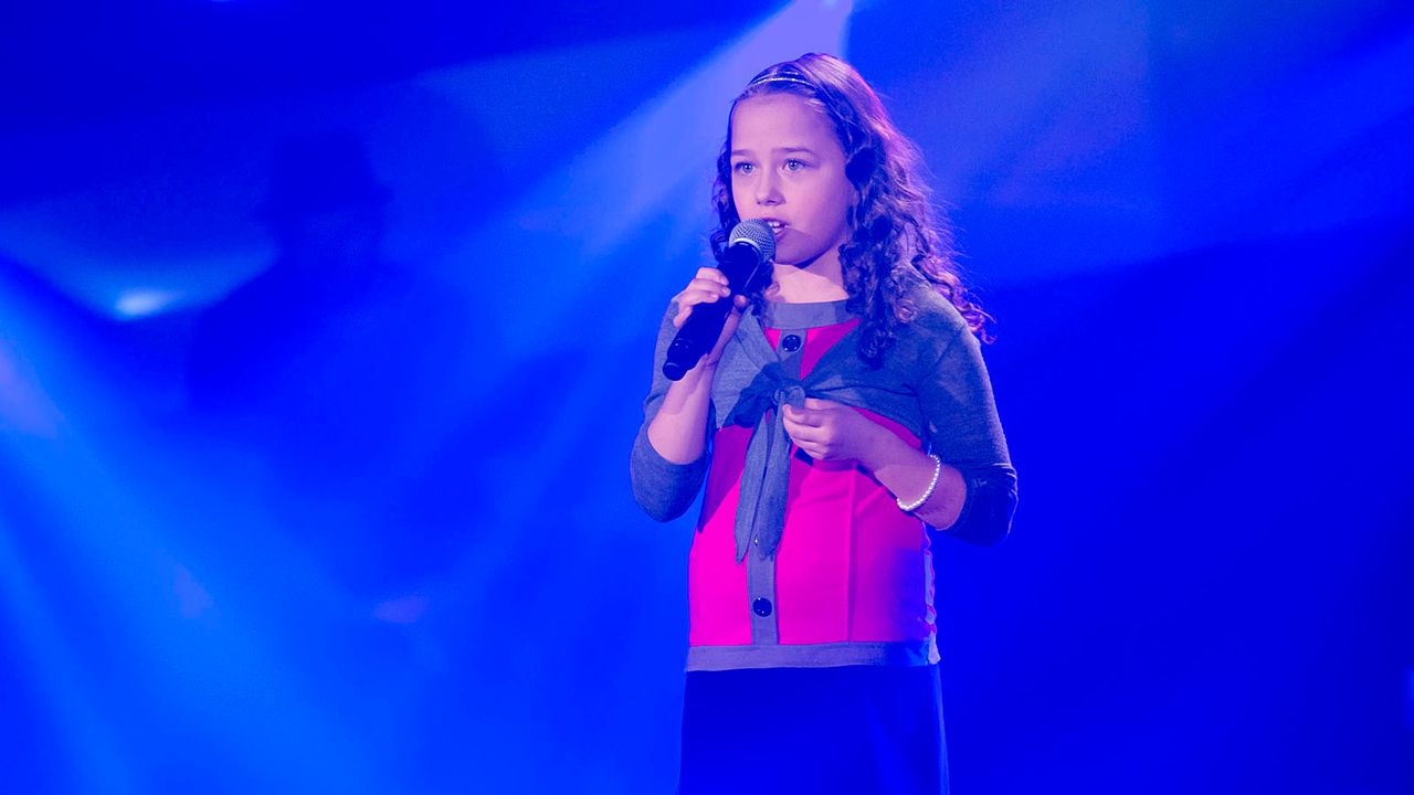 The-Voice-Kids-s01e02-Nicole-18 - Bildquelle: SAT.1/Richard Hübner