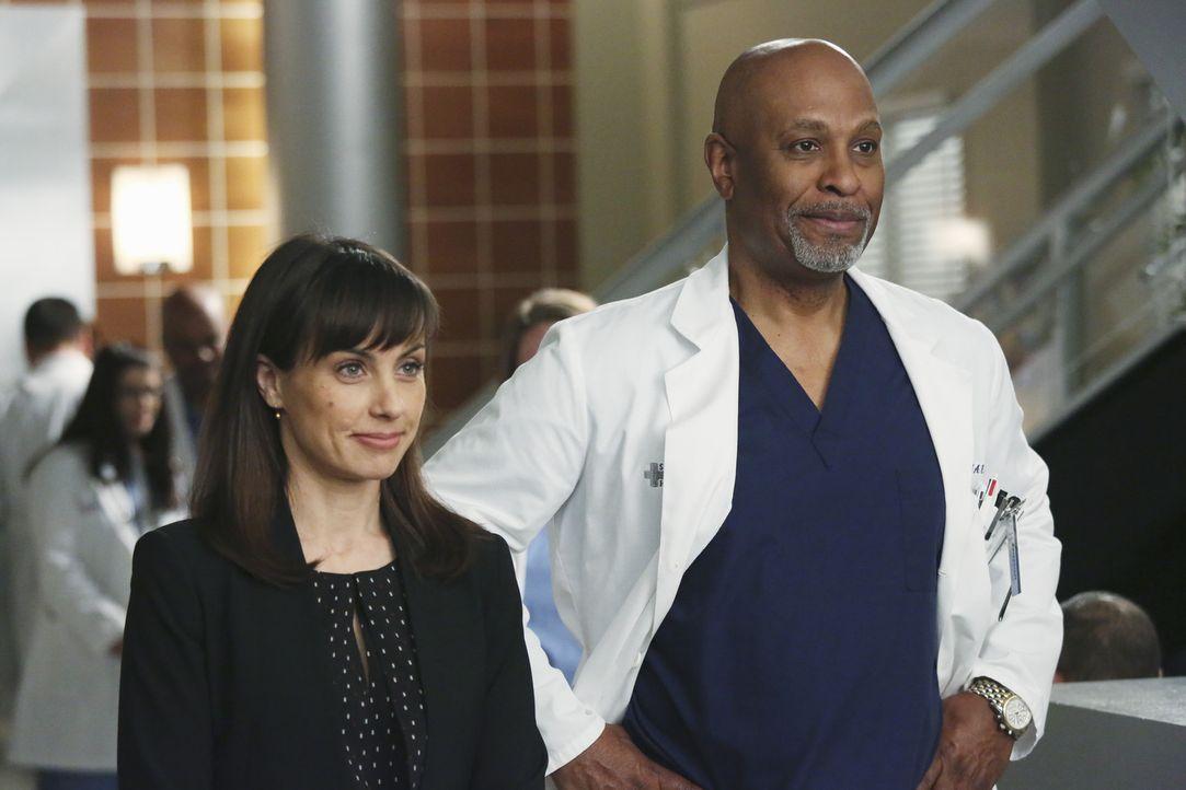Als ehemaliger Klinikleiter, hängt das Herz von Dr. Richard Webber (James Pickens Jr., r.) besonders stark am Seattle Grace Hospital. Die Buchhalte... - Bildquelle: ABC Studios