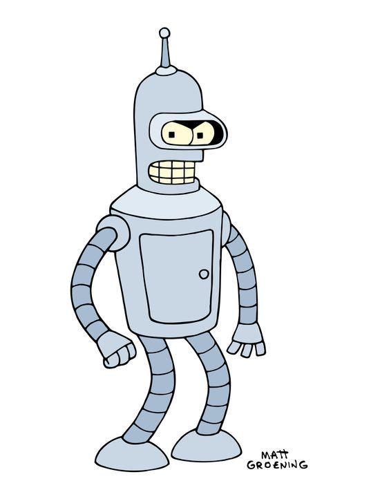 (4. Staffel) - Bender ist ein Roboter mit großem Herz und allzu menschlichen Schwächen ... - Bildquelle: und TM Twenthieth Century Fox Film Corporation - Alle Rechte vorbehalten