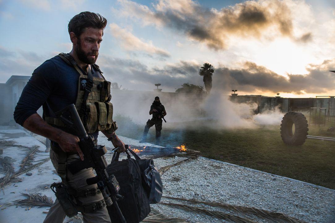 Am 11. September 2012, exakt elf Jahre nach dem verheerenden Terroranschlag auf das World Trade Center, kämpft der Ex-Soldat Jack Silva (John Krasin... - Bildquelle: 2016 Paramount Pictures. All Rights Reserved.