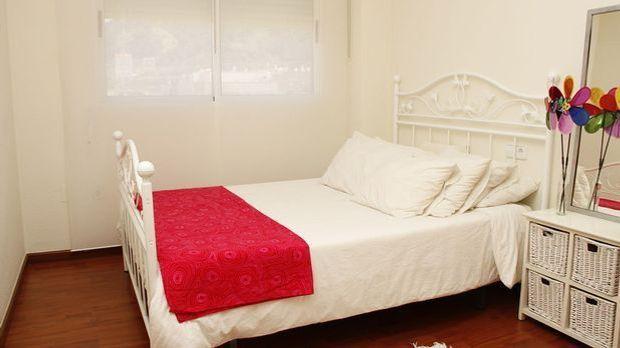 Schlafzimmer weiß