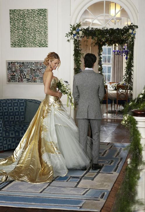 Serena und Dans Hochzeit - Bildquelle: Warner Bros. Entertainment Inc.