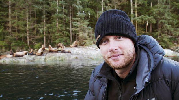 In der Wildnis von Kanada bekommt Freddie Flinthoff sogar Seehunde zu Gesicht...