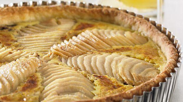 Apfelkuchen mit Marzipan für alle Genießer