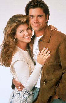 Full House - (4. Staffel) - Werden Jesse (John Stamos, r.) und Becky (Lori Lo...
