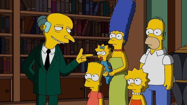 Nachdem ganz Springfield von einem Feuer zerstört wurde, bitten die Simpsons...