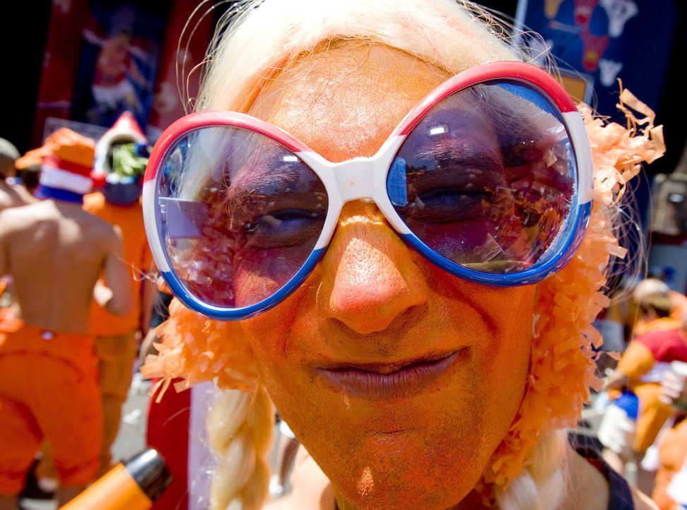 Die Fans der Oranjes - 8 - Bildquelle: AFP