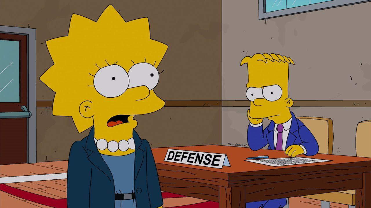 Bart (r.) wird zu Unrecht beschuldigt, zu Ostern einen Streich gespielt zu haben, bei dem er angeblich Eier in die Blasinstrumente des Schulorcheste... - Bildquelle: und TM Twentieth Century Fox Film Corporation - Alle Rechte vorbehalten