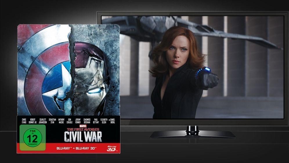 The First Avenger - Civil War (3D Blu-ray Disc im Steelbook)