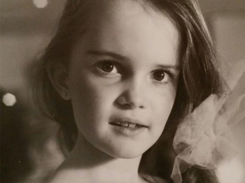 Bianca als Kind - Bildquelle: sixx