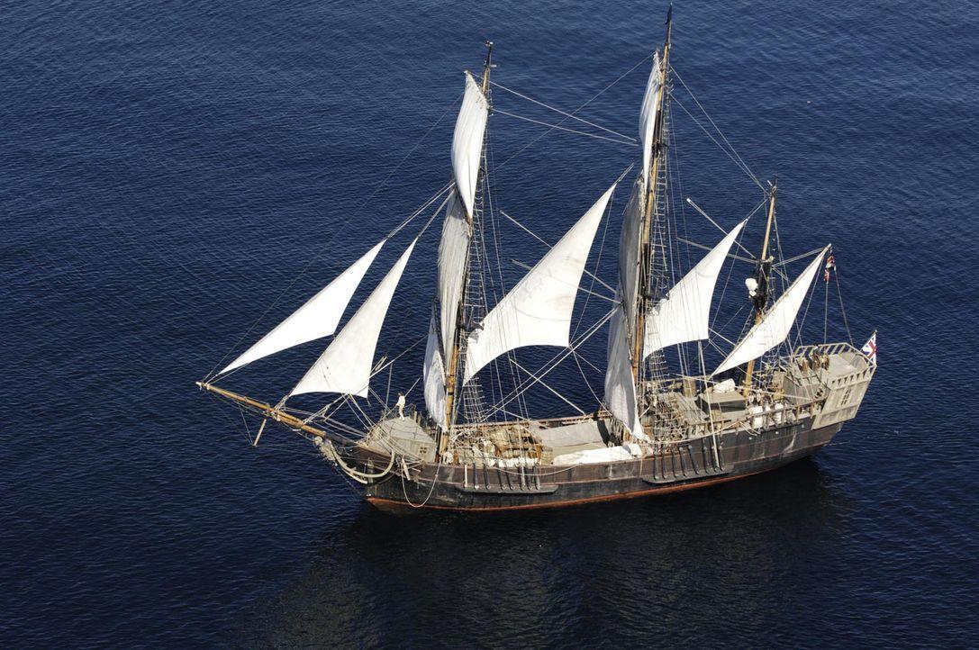 """Gehört zu der letzten aktiven Flotte klassisch-historischer Schiffe: die """"Earl of Pembroke"""" - Bildquelle: Gordon Mühle ProSieben"""