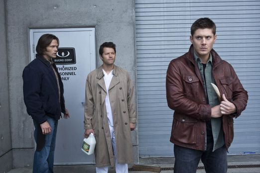 Supernatural - Castiel (Misha Collins, M.) versucht noch immer Sam (Jared Pad...
