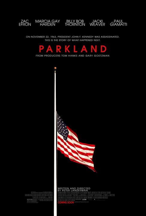 Parkland - Plakatmotiv - Bildquelle: 2013 Exclusive Media Entertainment, LLC. All Rights Reserved.