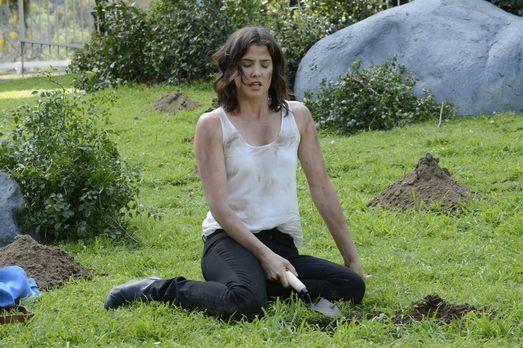 How I Met Your Mother - Robin (Cobie Smulders) sucht im Central Park nach ein...