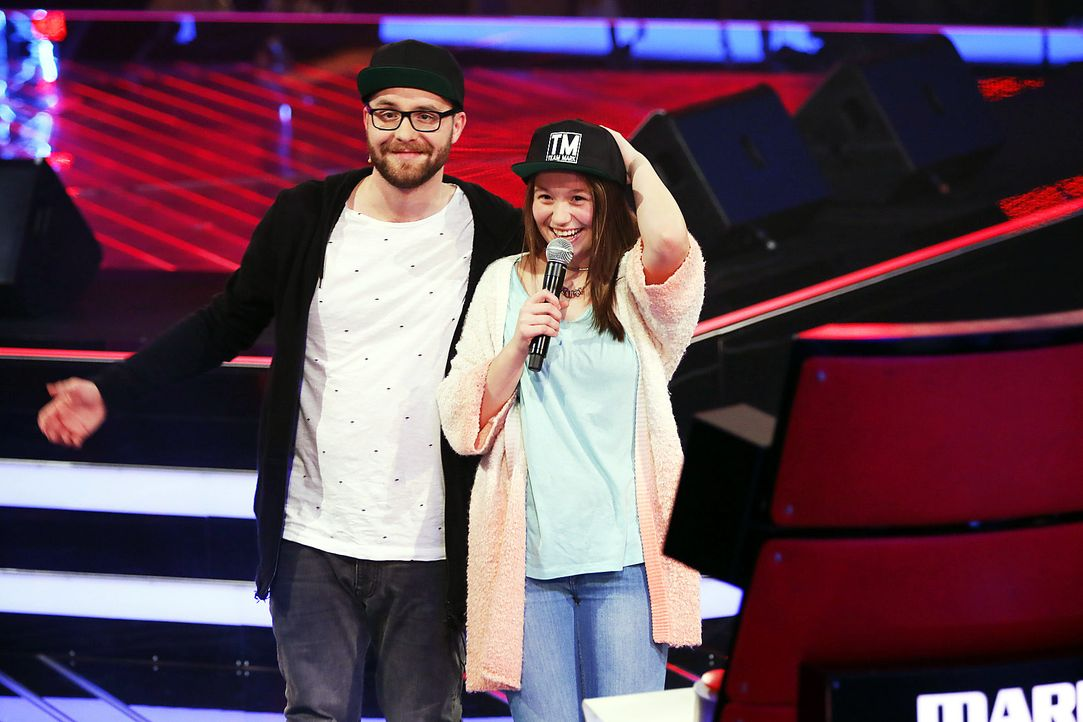 The-Voice-Kids-Stf03-Epi04-13-Antonia-SAT1-Richard-Huebner - Bildquelle: SAT.1/Richard Huebner