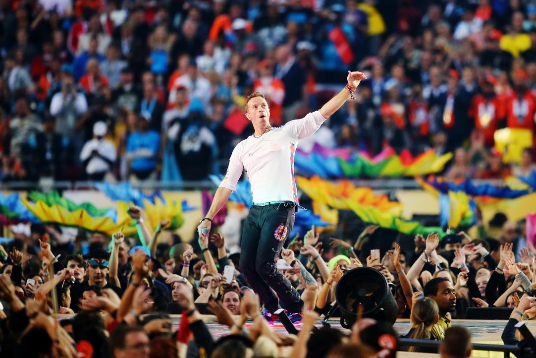 chris-martin-wave-160207-getty-AFP - Bildquelle: getty-AFP