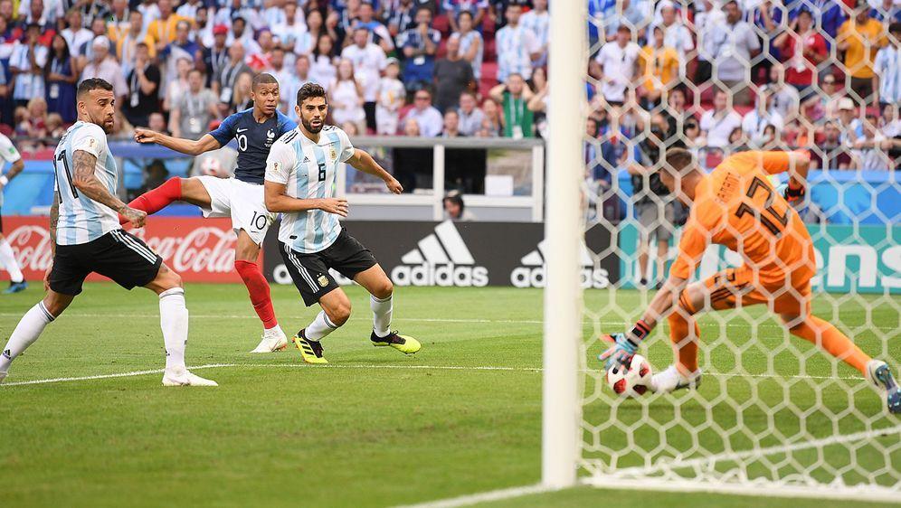 Frankreich Vs Argentinien