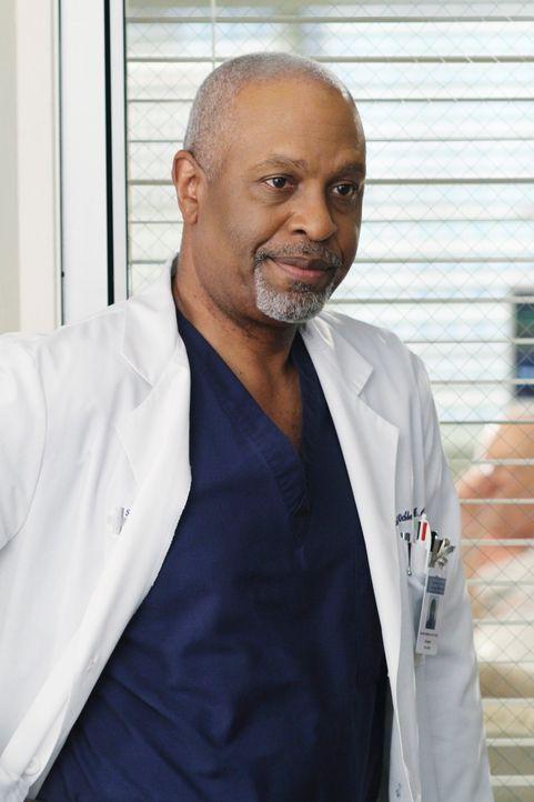 Ein harter Arbeitstag wartet auf Webber (James Pickens jr.) ... - Bildquelle: Touchstone Television