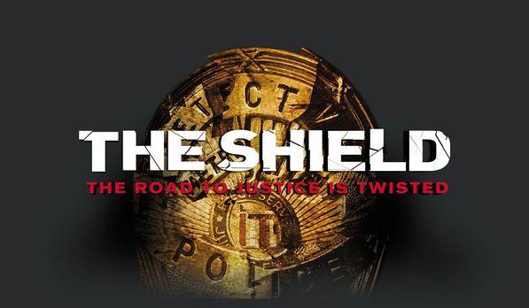 """The Shield - Gesetz der Gewalt - """"The Shield"""" - Logo - Bildquelle:..."""