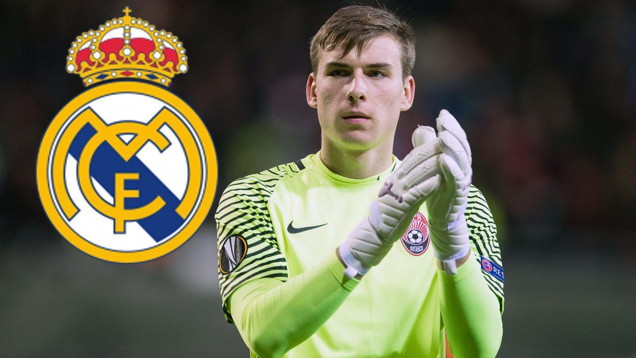 Andriy Lunin (Zugang Real Madrid) - Bildquelle: imago/Bildbyran