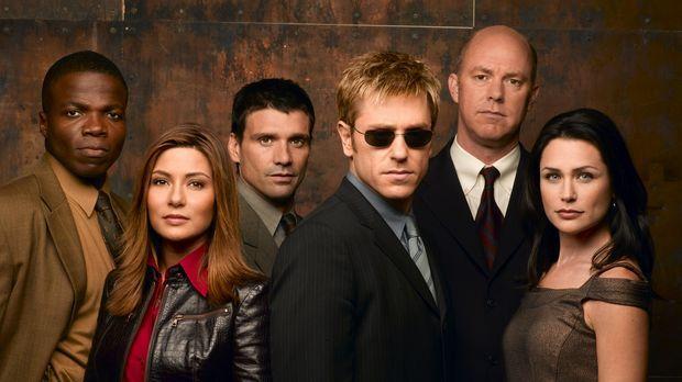 (1. Staffel) - Immer wieder muss sich der erblindete Detective Jim Dunbar (Ro...