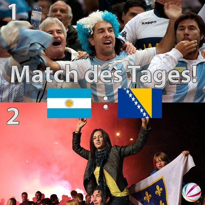 Argentinien vs. Bosnien-Herzegowina