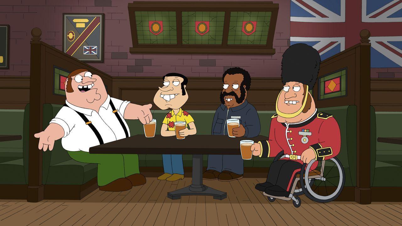 """Diese Folge liefert Antworten auf wichtige Fan-Fragen: Wie sieht die britische Originalversion von """"Family Guy"""" aus? - Bildquelle: 2011 Twentieth Century Fox Film Corporation. All rights reserved."""