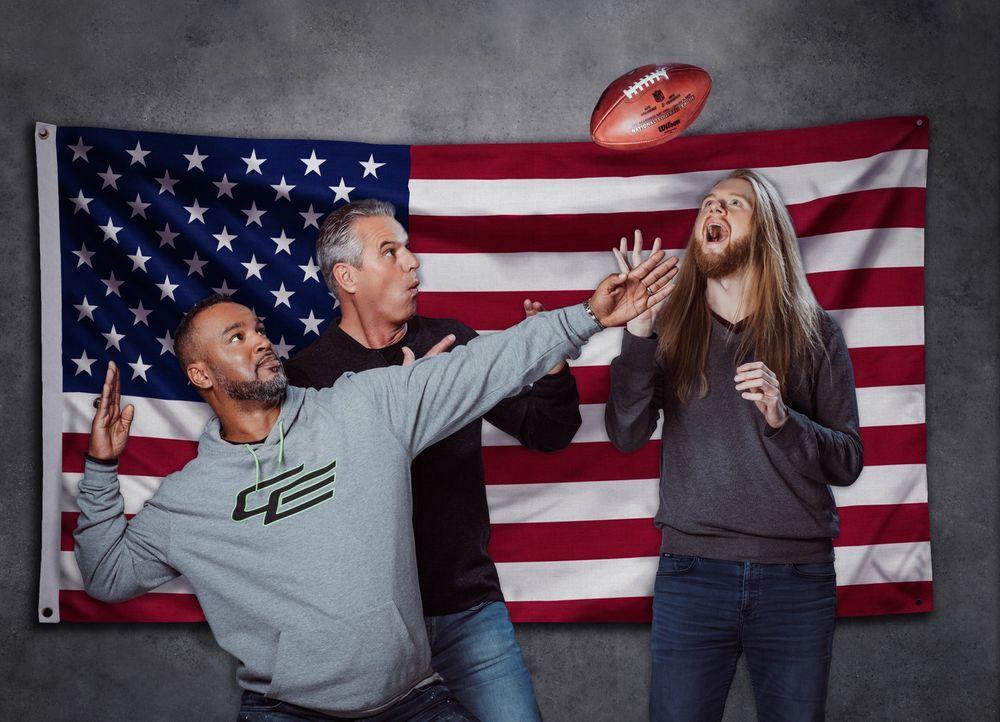 It's Super Sunday! ProSieben präsentiert den 52. Super Bowl live aus dem U.S. Bank Stadium in Minneapolis, Minnesota. Können die New England Patriot... - Bildquelle: Martin Saumweber ProSieben