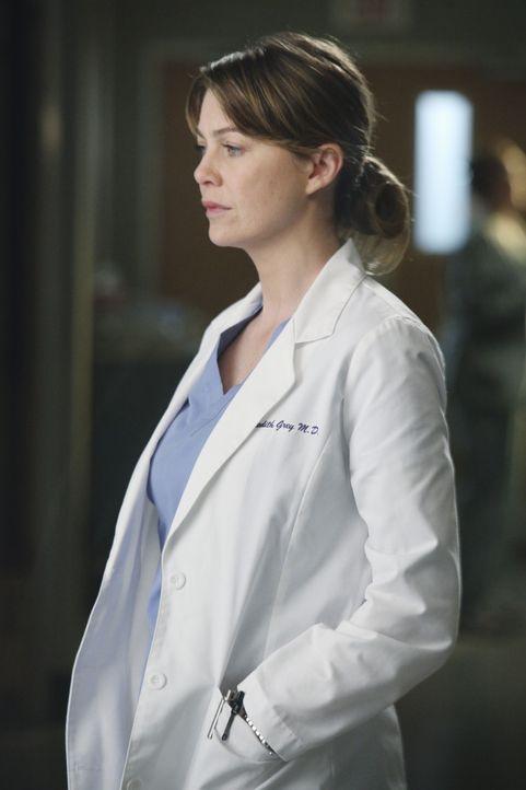 Von ihr wird allerhand abverlangt: Meredith (Ellen Pompeo) ... - Bildquelle: ABC Studios