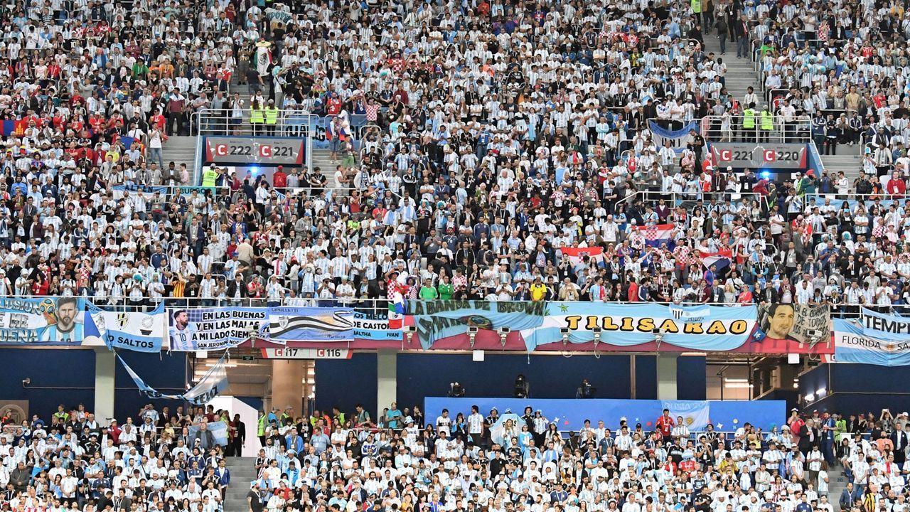 3. Argentinen: 90.383 Euro wegen Fehlverhalten der Fans - Bildquelle: imago/Matthias Koch