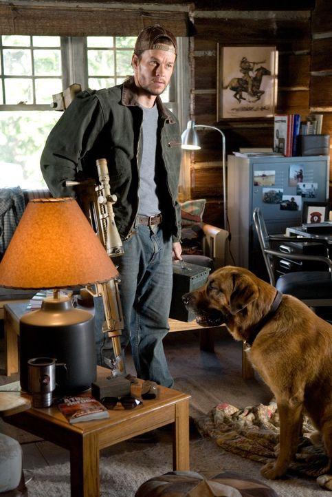 Bob Lee Swagger (Mark Wahlberg) war der beste Scharfschütze in der Army. Bis er bei einem Einsatz hängen gelassen wurde, was seinen jungen Partner d... - Bildquelle: Copyright   2007 by PARAMOUNT PICTURES. All Rights Reserved.