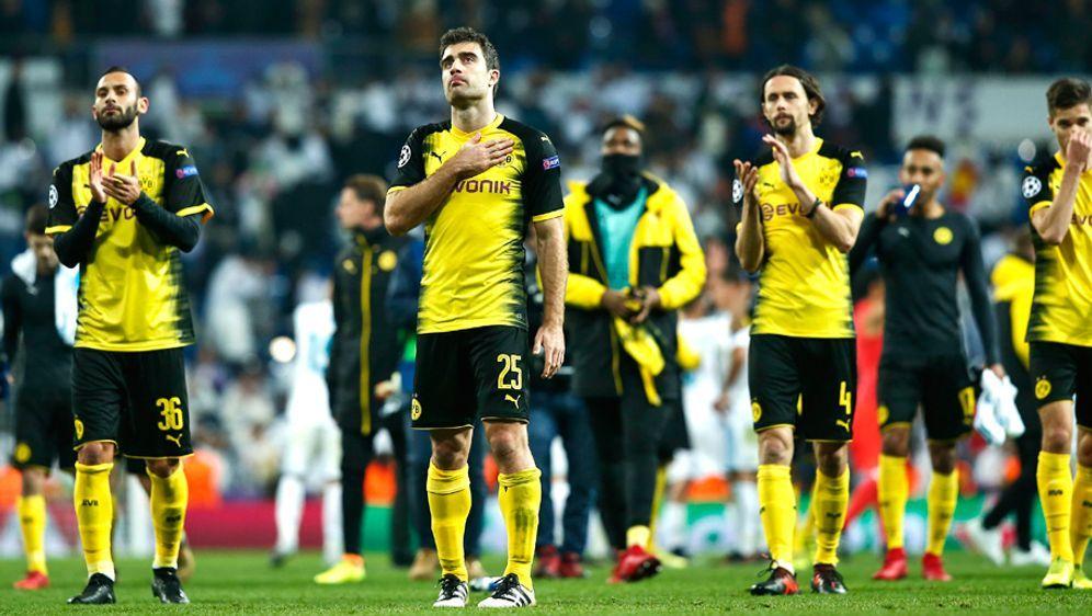 Der BVB verliert auch das letzte Champions-League-Gruppenspiel bei Real Madr... - Bildquelle: Getty images