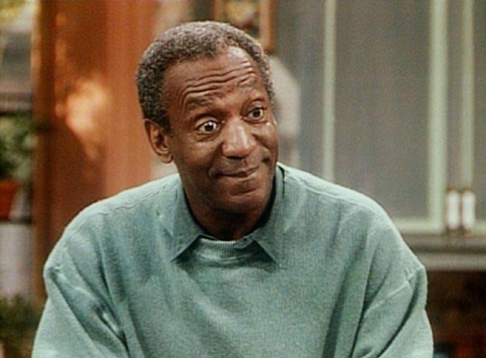 Cliff (Bill Cosby) zeigt sich verwundert, dass Vanessa ausgerechnet in der Großstadthektik von New York Ruhe und Frieden finden will. - Bildquelle: Viacom