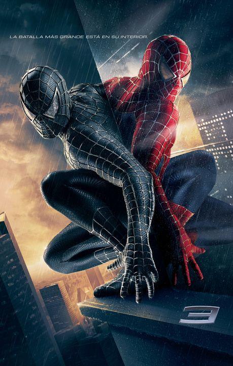 Spider-Man 3 - Plakatmotiv - Bildquelle: 2007 Marvel Characters, Inc.  2007 CPII. All Rights Reserved.