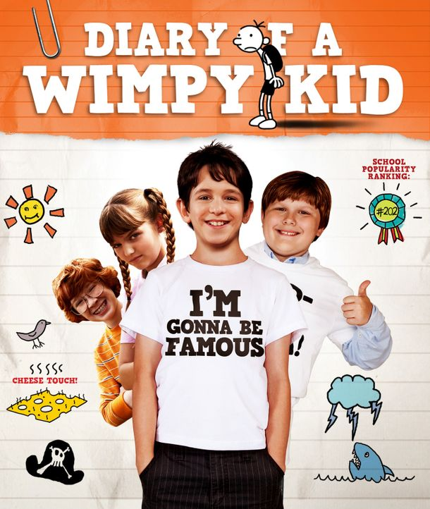 GREGS TAGEBUCH - VON IDIOTEN UMZINGELT! - Plakat - Bildquelle: 2010 Twentieth Century Fox Film Corporation. All rights reserved. DIARY OF A WIMPY KID, WIMPY KID and Greg Heffley image are trademarks of W