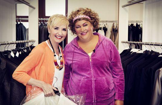Die Promi-Hochzeitsplaner - Comedy-Queen Cindy aus Marzahn (r.) und Society-E...