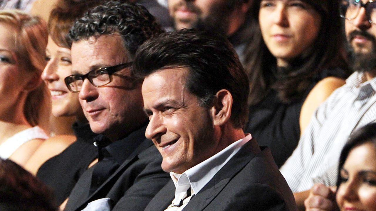 mtv-movie-awards-Charlie-Sheen-12-06-03-getty-AFP - Bildquelle: getty-AFP