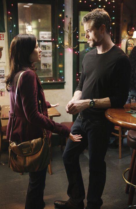 Mark (Eric Dane, r.) versucht, Lexie (Chyler Leigh, l.) langsam wieder näher zu kommen und sagt ihr sogar, dass er sie vermisst. Doch was wird sie... - Bildquelle: ABC Studios